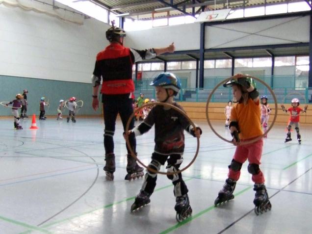 Neue Sportabteilung Skaten